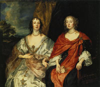 Anthony van Dyck Two Ladies-in-Waiting to Queen Henrietta Maria