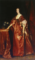 Anthony van Dyck and workshop - Queen Henrietta Maria