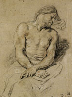 Anthony van Dyck - Study for the Figure of Christ