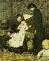 Pierre Bonnard The Artist's Sister and Her Children