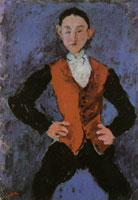 Chaim Soutine Portrait of a Boy