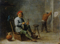 David Teniers the Younger The Smoker