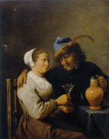 David Teniers the Younger (?) Tavern Scene