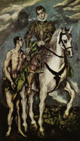 El Greco St. Martin and the Beggar