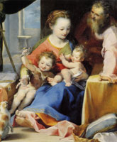 Federico Barocci The Holy Family with the Infant Baptist