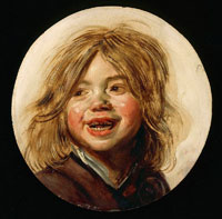 Frans Hals Laughing Boy with a Soap Bubble