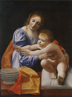 Giovanni Antonio Boltraffio Virgin and Child ('The Esterházy Madonna')
