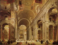 Giovanni Paolo Panini Interior of Saint Peter's, Rome