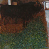 Gustav Klimt The Black Bull