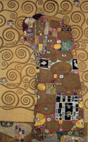 Gustav Klimt Cartoon for the Stoclet Frieze: Fulfilment