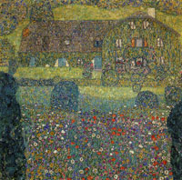 Gustav Klimt - Forester's House at Weissenbach