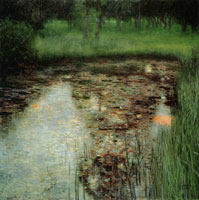 Gustav Klimt - The Marshy Pond