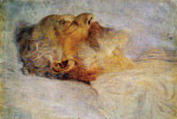 Gustav Klimt - Old Man on His Deathbed