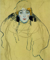 Gustav Klimt Portrait of a Woman