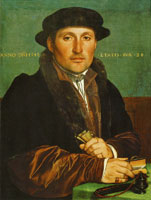 Hans Holbein the Younger Portrait of a Young Man