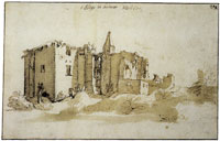 Hendrick Goltzius The Ruins of Brederode Castle