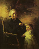 Henry Raeburn John Tait and His Grandson