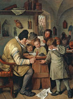 Jan Steen The village school