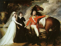 John Singleton Copley Colonel Fitch and His Sisters