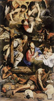 Juan Bautista Maino Adoration of the Shepherds
