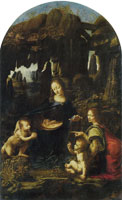 Leonardo da Vinci The Virgin of the Rocks
