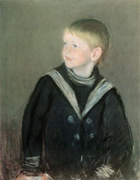 Mary Cassatt Sailor Boy (Portrait of Gardner Cassatt as a Child)
