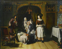 Matthijs Naiveu The Visit to the Nursery
