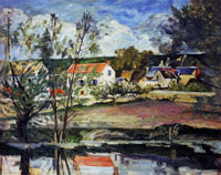 Paul Cézanne The Banks of the Oise