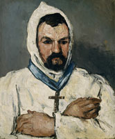Paul Cézanne Antoine Dominique Sauveur Aubert (born 1817), the Artist's Uncle, as a Monk