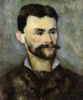 Paul Cézanne - Portrait of Jules Peyron