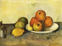 Paul Cézanne Still Life with Apples