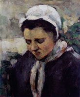 Paul Cézanne Young Peasant