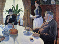 Paul Signac The Dining Room, Opus 152