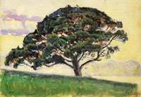 Paul Signac Large Pine, Saint-Tropez
