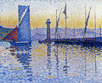 Paul Signac The Lighthouse, Saint-Tropez