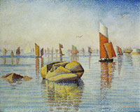 Paul Signac Morning Calm, Concarneau, Opus 219