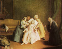 Pietro Longhi The Simulated Faint