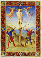 Pietro Perugino The Martyrdom of Saint Sebastian