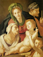Pontormo The Holy Family