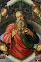 Raphael God the Father Holding a Diadem