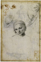 Raphael Study for the Coronation of Saint Nicholas of Tolentino