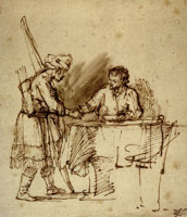 Rembrandt Esau Selling His Birthright to Jacob
