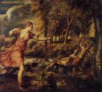 Titian The Death of Actaeon