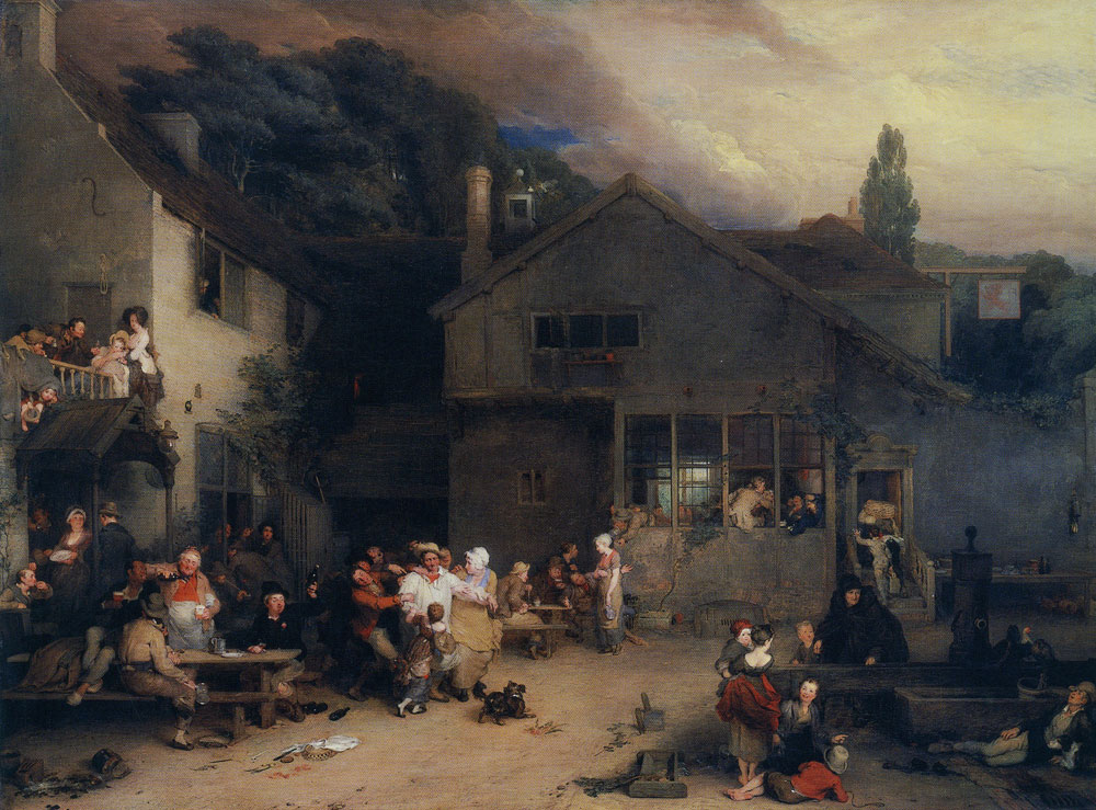David Wilkie - The Village Holiday