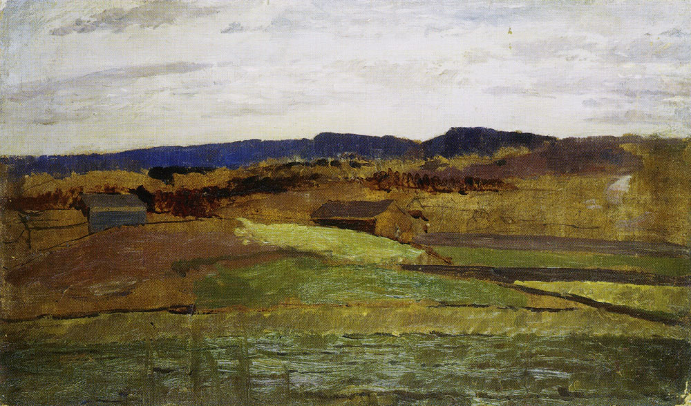Edvard Munch - Autumn in Asker