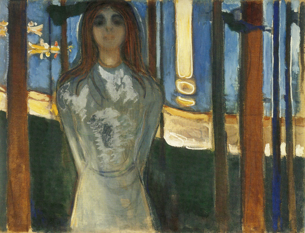 Edvard Munch - Summer Night, the Voice