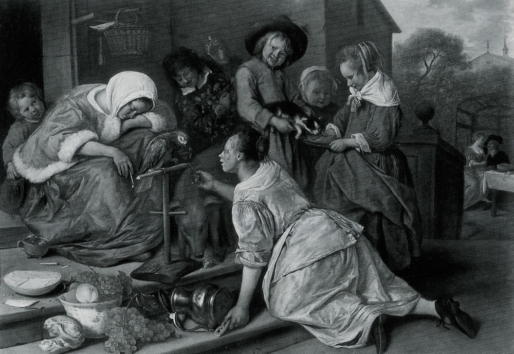 Jan Steen - The Effects of Intemperance
