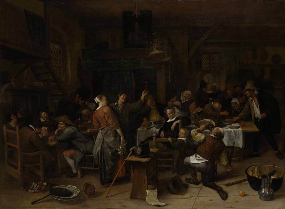Jan Steen - Prince's Day