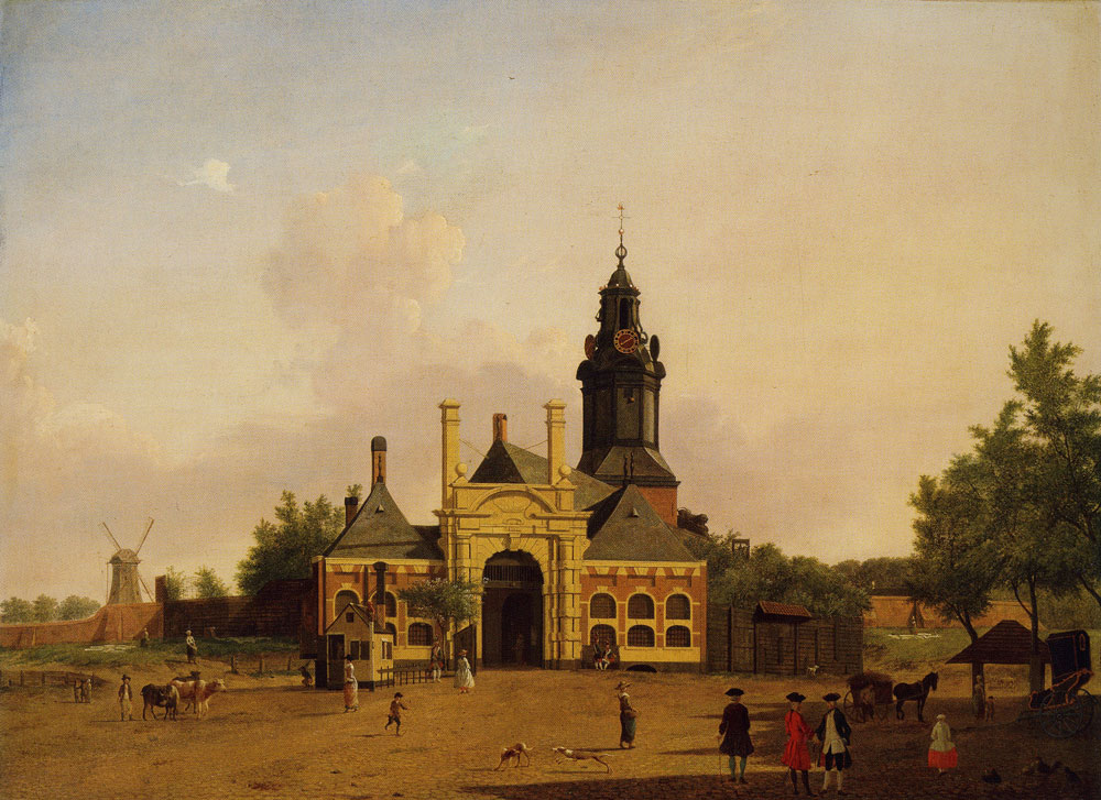 Jan ten Compe - The Haarlemmer Gate