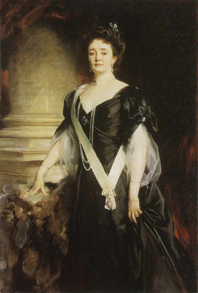 John Singer Sargent - H.R.H. The Duchess of Connaught and Strathearn